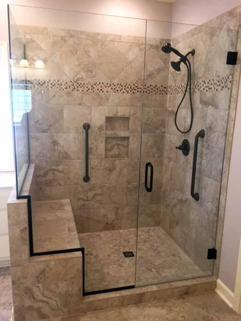 Bathroom Redesign November 2017 Hathcock Roofing And Remodeling Trusted And Recommended