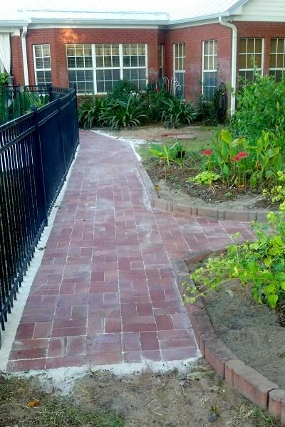 Brick Paver Project
